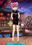 Shizuka Pinker chinese outfit