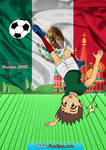 Mexican soccer fanboy