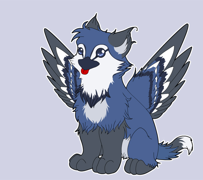 Blue The Bluejay Gryphon By That-Stupid-Dingo On DeviantArt