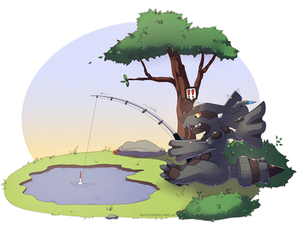 Fishing Zekrom