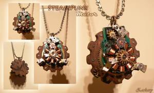Steampunk Motor by Zackary