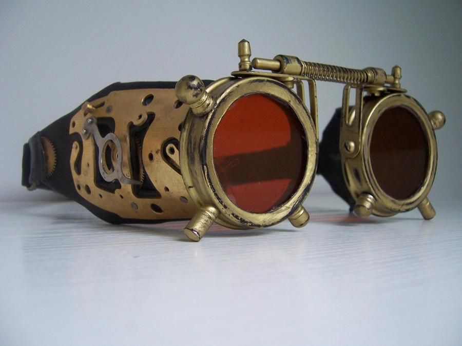 Steampunk Goggles by Zackary on DeviantArt