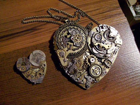 Steampunk Mechanic Heart