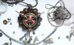 Steampunk Wood-based Gear Medal
