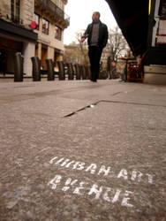 Urban Art Avenue by tapsiphoto