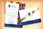 UWI Graduation Invitation blue