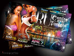 RU COMMING OVER TONIGHT Flyer