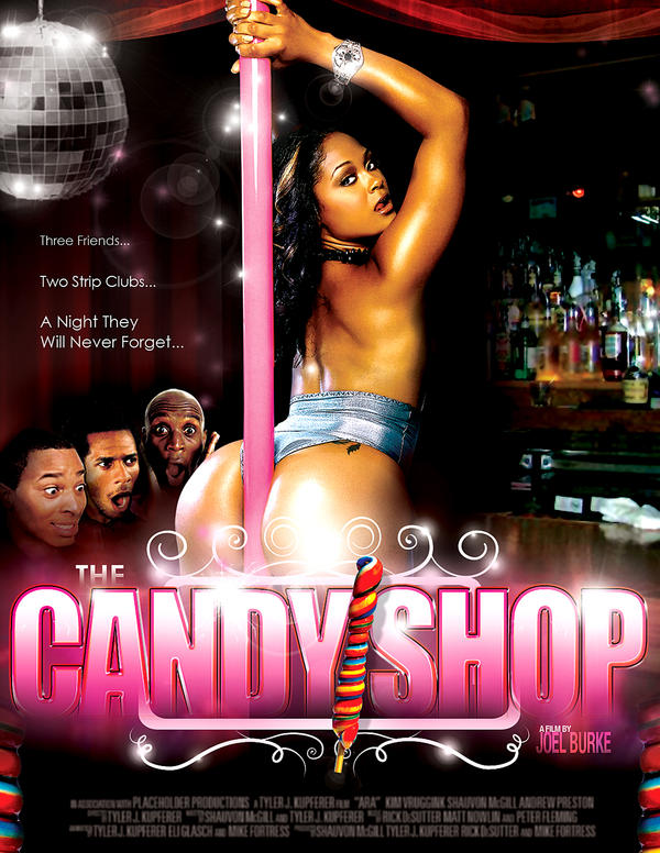 The Candy Shop Movie Poster by innografiks