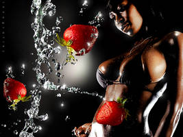 Strawberry Chocolate Beauty by innografiks
