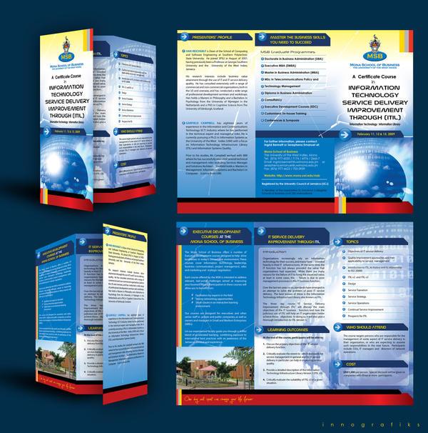 UWI-MSB IT Course Brochure by innografiks