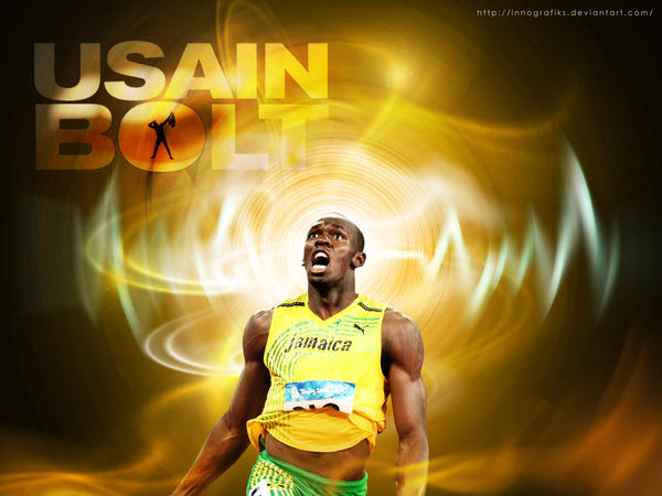 USAIN BOLT WALLPAPER By Innografiks