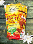 Bridget Sandals Summer Sale Ad