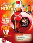 Coco-Cola Football Poster