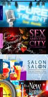 Pure Bar Week Series Flyer by innografiks