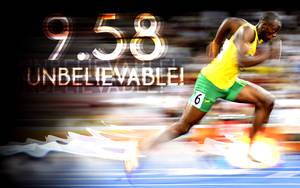 Usain Bolt 9.58 by innografiks