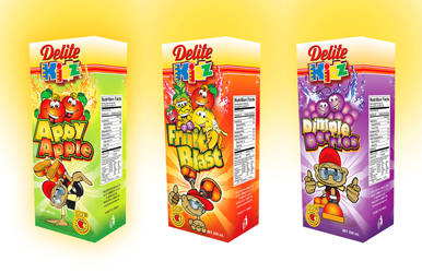 Delite Kidz Package Design by innografiks