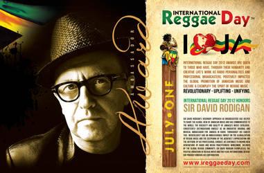 IRD AWARDS David Rodigan by innografiks