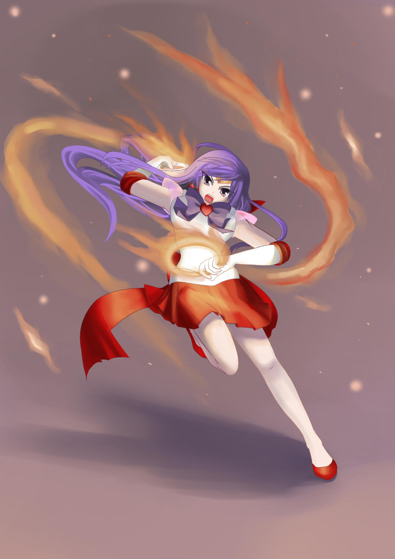 Sailor Mars - Burning Mandala