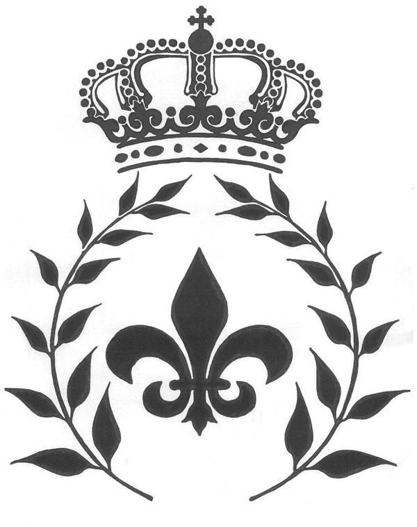 Fleur-de-lis with crown by CLERCQ on DeviantArt