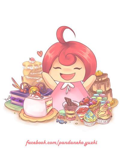 Dessert Is Love by tsukiko-aizawa