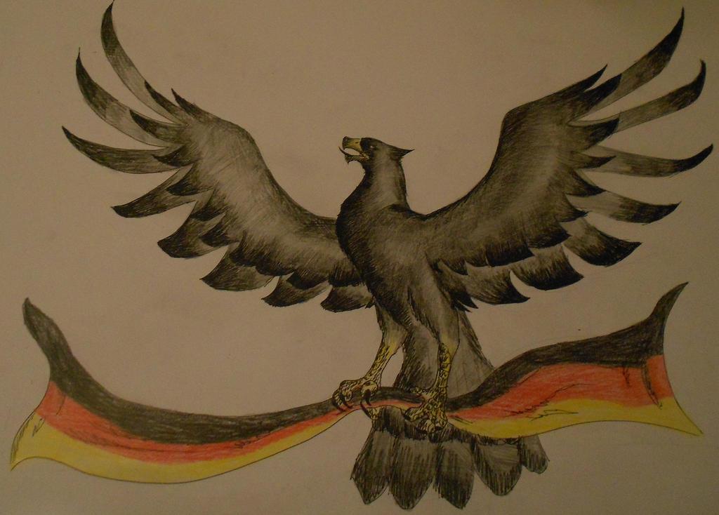 German eagle by Sourene on DeviantArt