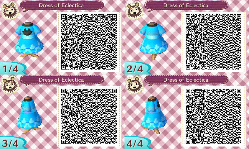 Dress of Eclectica QR Code - AC:NL by Pelixia