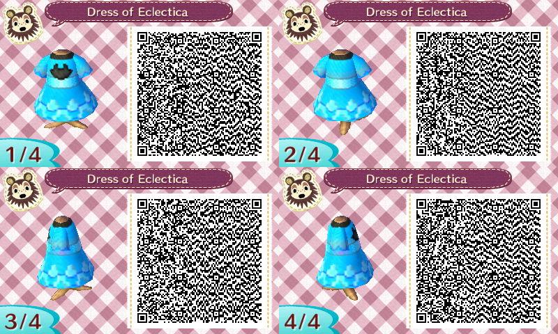 Dress of Eclectica QR Code - AC:NL by Pelixia