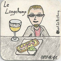 Seb au Longchamp by LostInBrittany