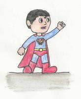 Superboy by LostInBrittany