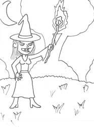 Witch by LostInBrittany