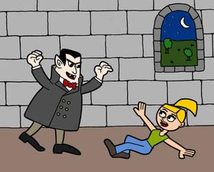 Anna the Vampire Hunter by LostInBrittany