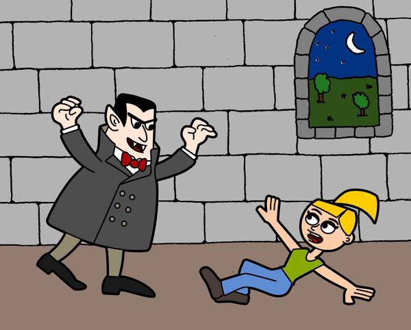 Anna contre les vampires
