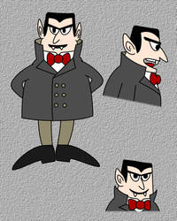 Anna the Vampire Hunter - Vampire character study by LostInBrittany