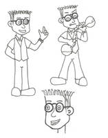 Eric the nerdy sidekick - Character study by LostInBrittany