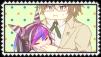 Byakuya x Ibuki Stamp by craftHayley44