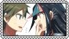 Hajime x Ibuki Stamp by craftHayley44