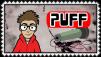 YourFavoriteMartian Puff Stamp by craftHayley44