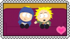 Tweek X Craig Stamp by craftHayley44
