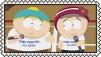 Cartman X Heidi Stamp by craftHayley44