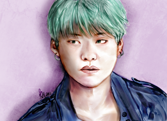 Collab: Min Yoongi by GXiaoHui