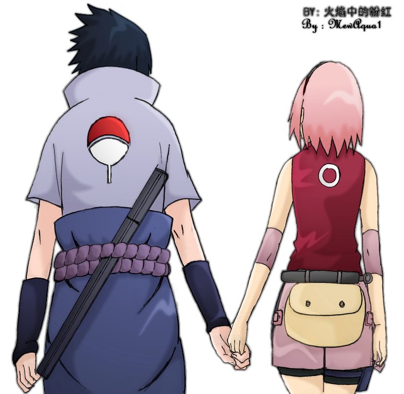 SasuSaku - Together by MewAqua1