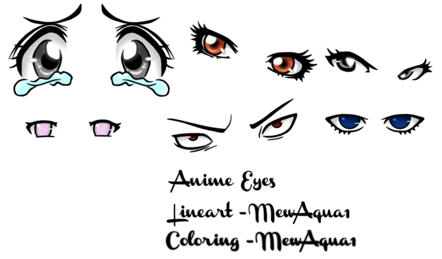 crying anime eyes coloring coloring pages