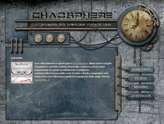 Chaosphere.it Official Site by AliceInDarkland