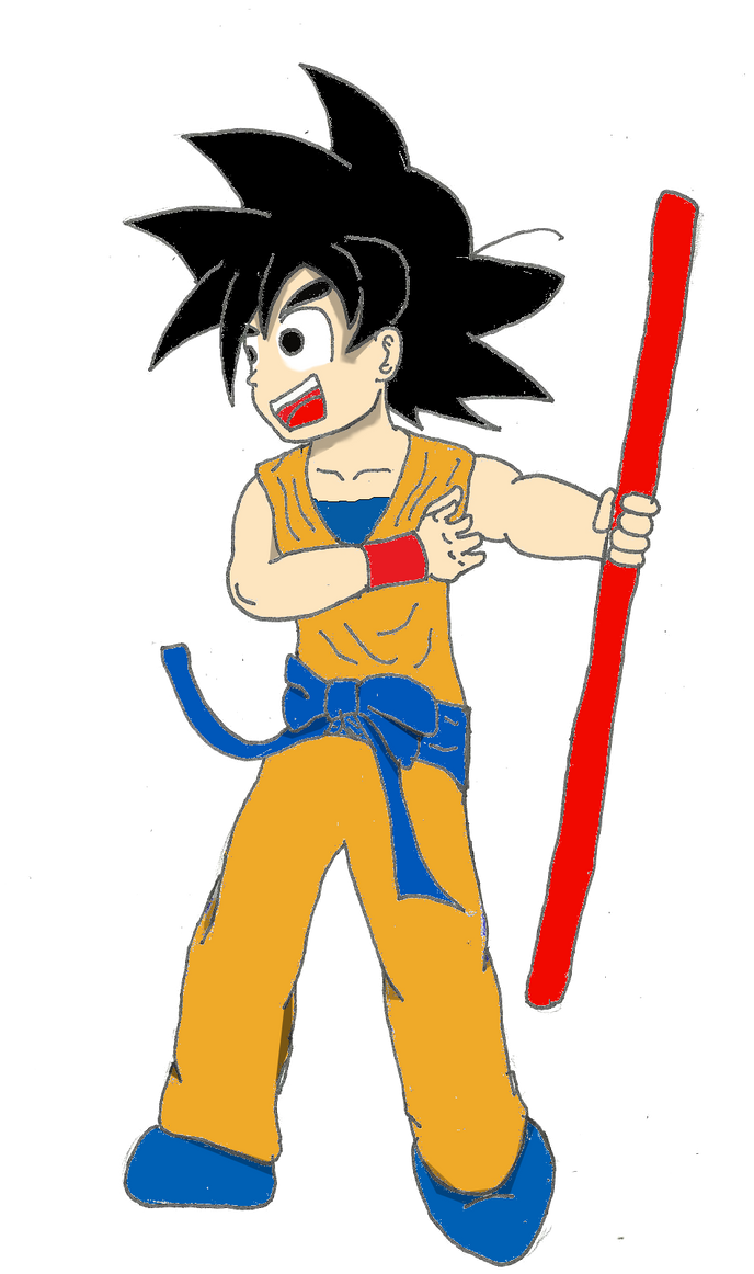 PreTeen Goku by DANJAMESV