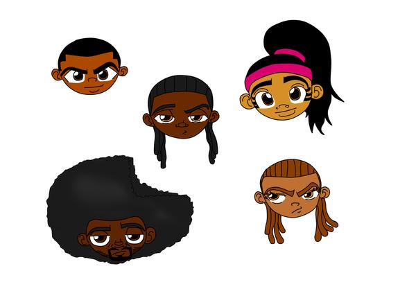 Chibi Heads by DANJAMESV
