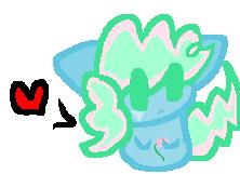 Kitty Pinkie Pie adopt by ghostiibear