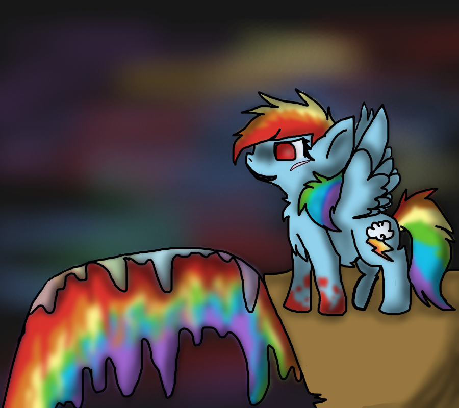 In the Rainbow factory by ghostiibear
