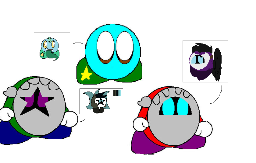 Really old ocs remade 2 by ghostiibear on DeviantArt