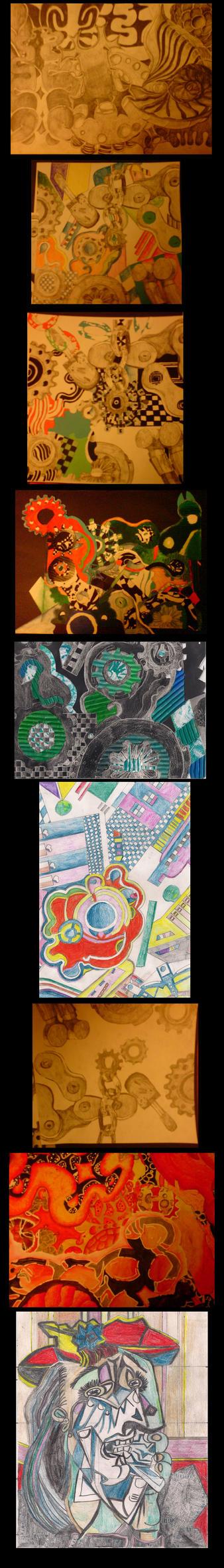 Art coursework stuff. by Hyper-Knux