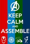 Keep Calm: Avengers - Assemble